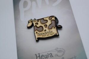 cow heula pins