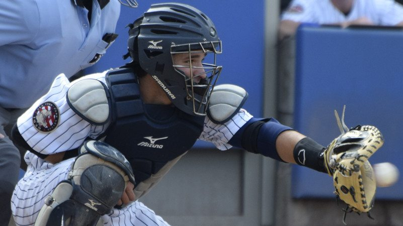 Luis Torrens will be back behind the plate in 2016 (Robert M Pimpsner)
