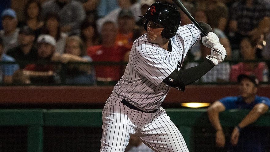 "Greg Bird in the Arizona Fall League in 2016 ( Ryan ""Moose"" Morris - Freelance Photographer)"