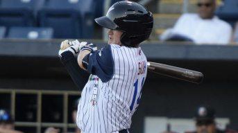Kyle Holder had 3 hits (Robert M Pimpsner)