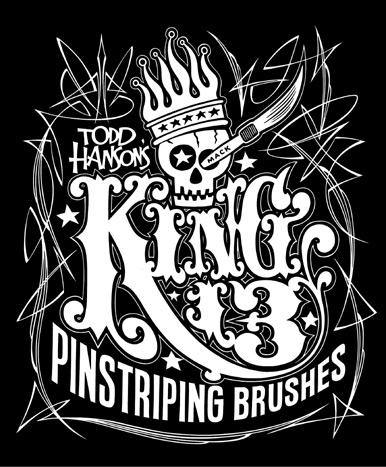 "Hanson/Mack ""King 13"" Pinstriping Brush"