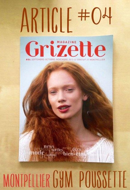 Gym pousette Grizette