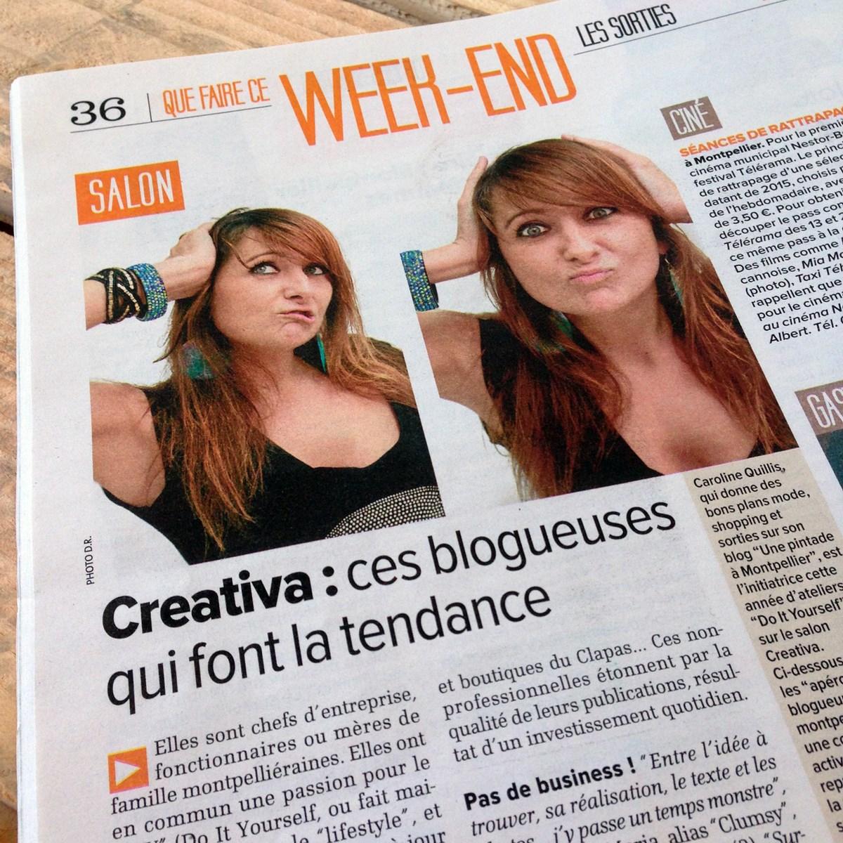Le blog de La Pintade à Montpellier dans La Gazette // 21.01.2016