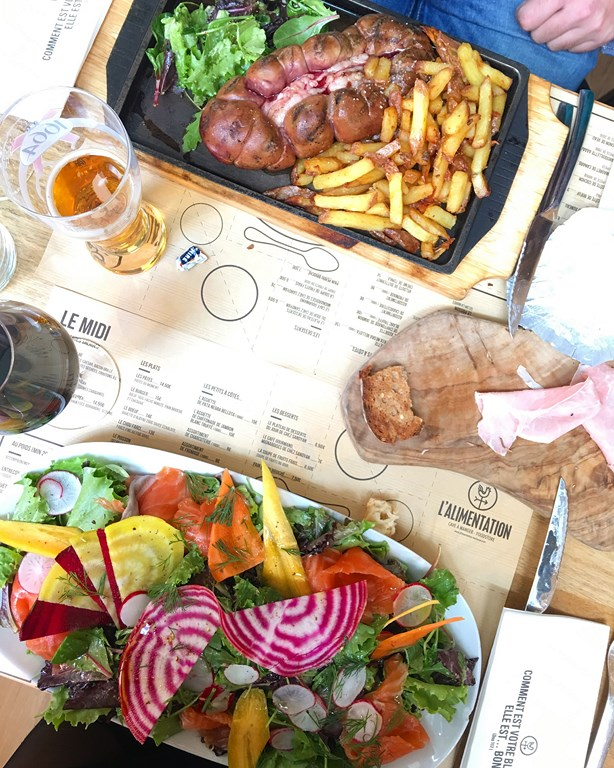 TOULOUSE // « just do eat » L'ALIMENTATION restaurant