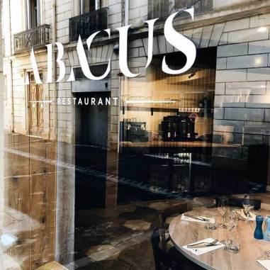 Devanture restaurant Abacus