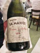Vin - Blanc domaine La Marfée
