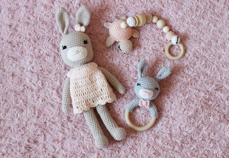 Les CROCHETS DE THALIE // créations en crochet pour les bébés à prix riquiquis