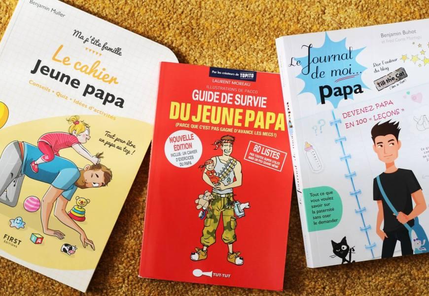 LIVRE // une sélection de livres (avec des images) pour les futurs papas