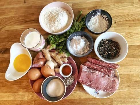 Les ingrédients - Banh Bao