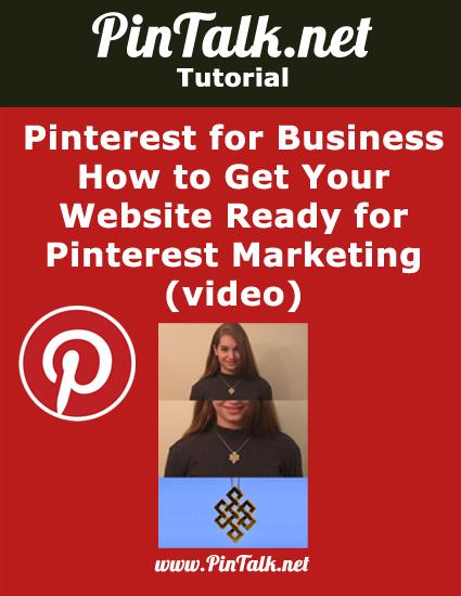 Pinterest for Business Get Website Ready Pinterest Marketing
