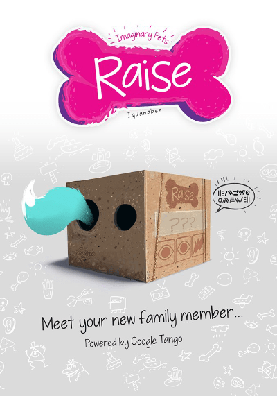 Raise AR XR Game Poster