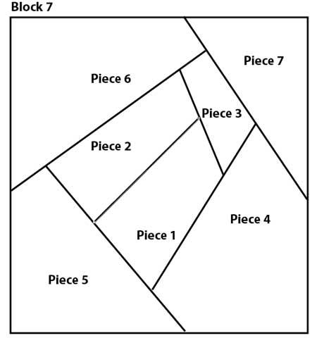 Shadow Box Quilt Block Pattern