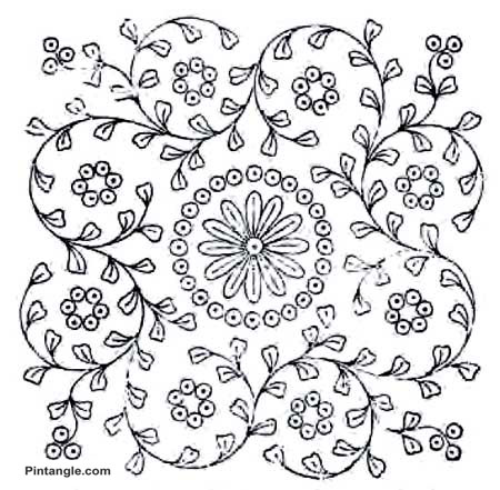 Free hand embroidery patterns from the 1907 Herrschner
