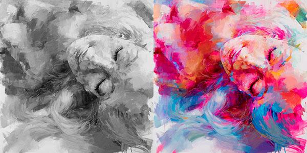 Valor tonal Luces y sombras en la pintura para lograr
