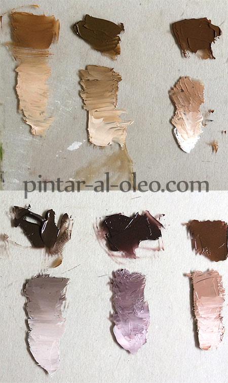 Cmo hacer color caf o marrn con pintura  Pintar al leo
