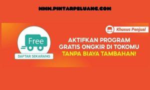 cara daftar Shopee gratis ongkir