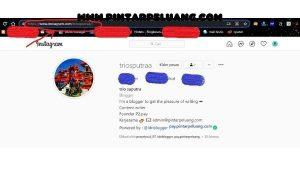 cara mendapatkan link akun instagram