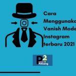 vanish mode instagram