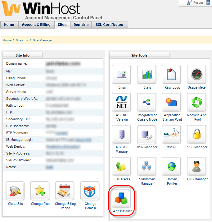 Winhost App Installer Link