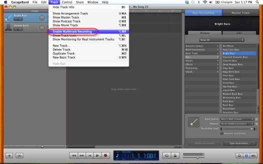 07 enable multitrack recording