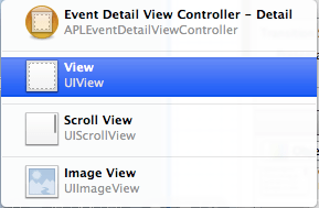 xcode select layers with shift control click view