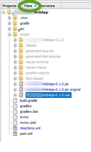 Create a WAR file for a Java web application in NetBeans | Pinter