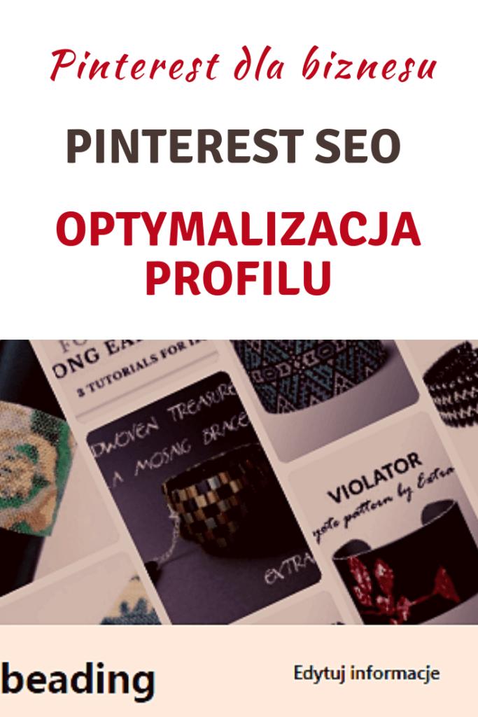 Pinterest SEO – Optymalizacja profilu