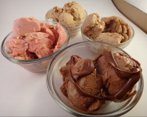 Pinterest in Real Life: 1 Ingredient Ice Cream, 4 Variations