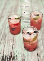 Strawberry & Watermelon Mojitos