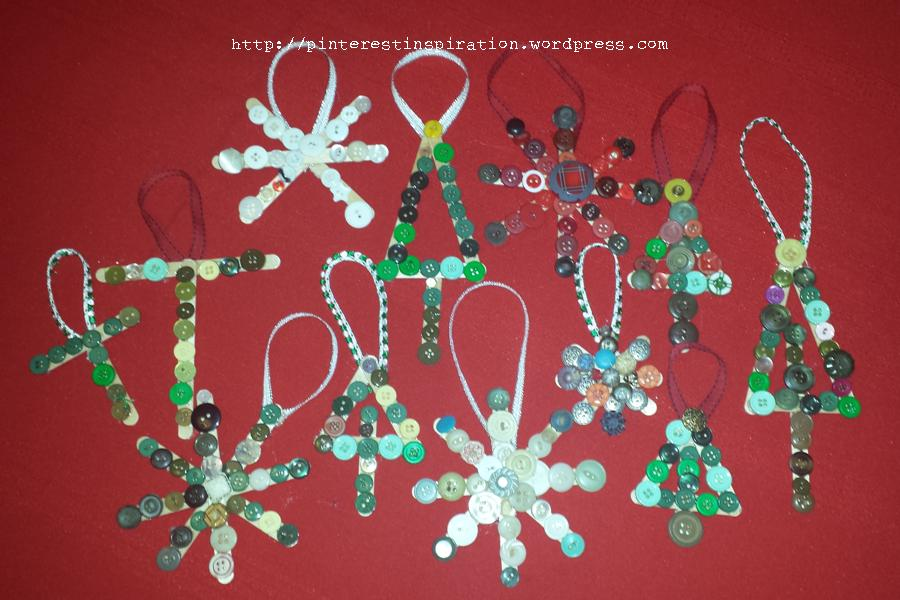 Handmade Christmas Decorations Pinterest