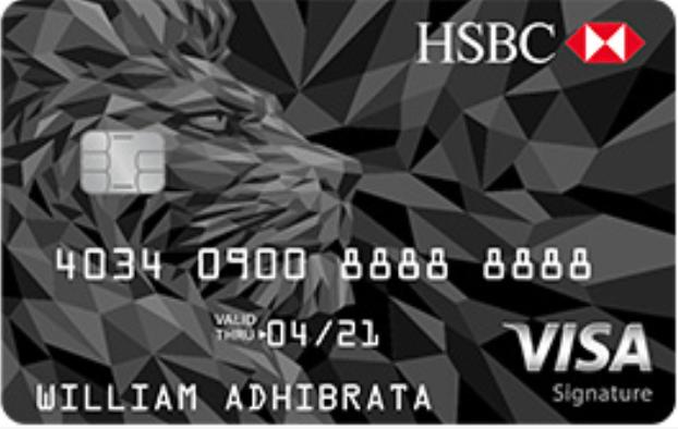 HSBC Visa Signature - PinterPoin