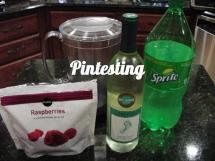 White Wine Spritzers with Sprite