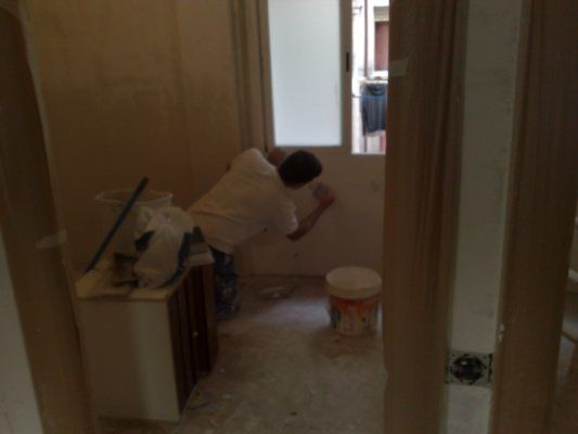 Quitar gotele y pintar piso en Alcorcon (40)