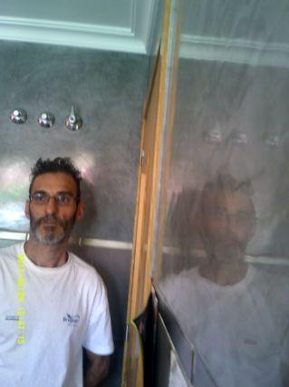 Como pintar paredes con pintura plastica sideral s 300 - Pintar sobre estuco veneciano ...