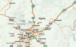 Mapa Pintores en Algete