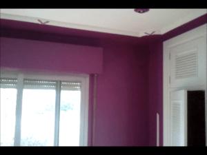 Dormitorio Laca Color Morado - Pinturas Urbano