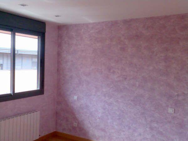 Dormitorio pintado en Tierras Florentinas y Cosmopolitan Morado - Pinturas Urbano