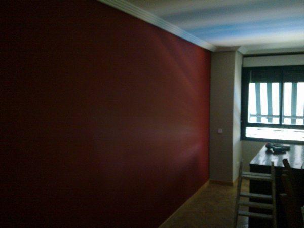 Plastico Color Rojo y Gris Claro en Salon Alameda de Osuna (1)