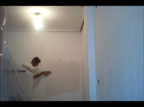 Aplicando 3 Mano de Aguaplast Macy Acabados 3