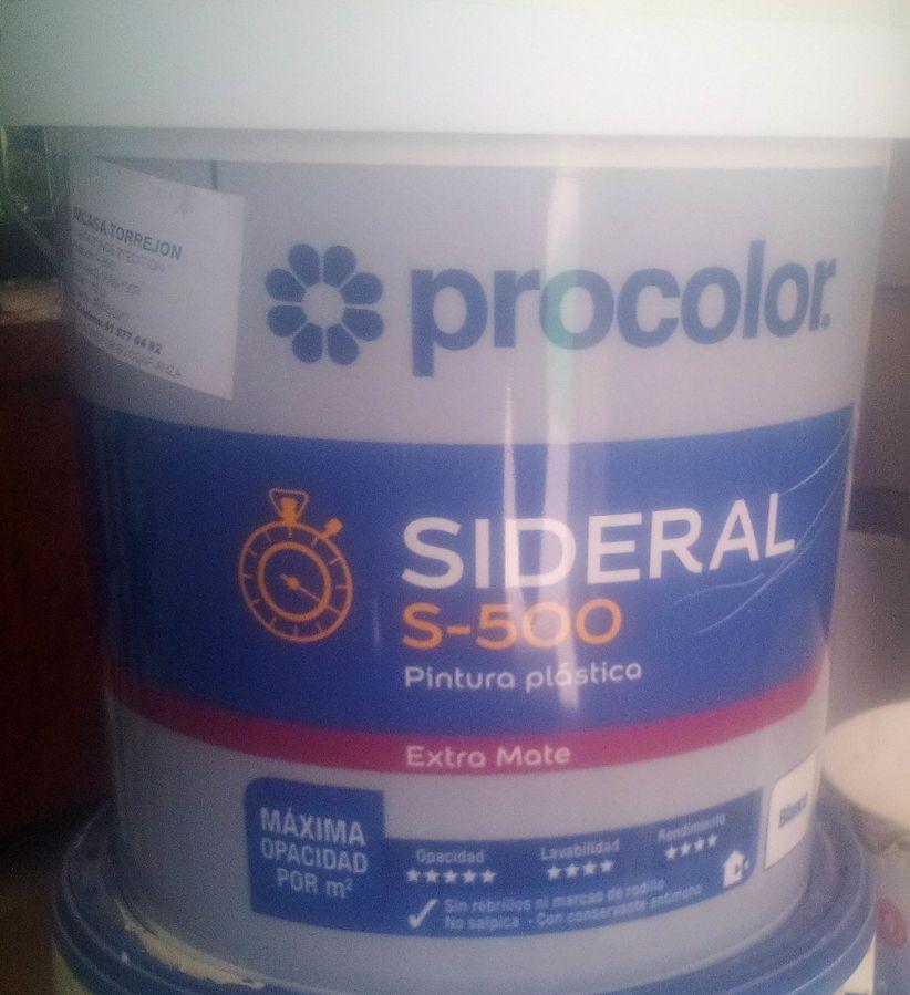 Plastico Sideral S-500 Nuevo Formato