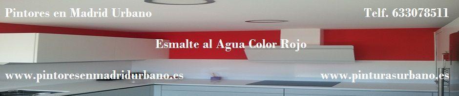Banner Esmalte al Agua Rojo