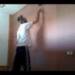 Esmalte al agua color Marron en Dormitorio de Coslada (7)