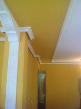 Plastico Amarillo con moldura