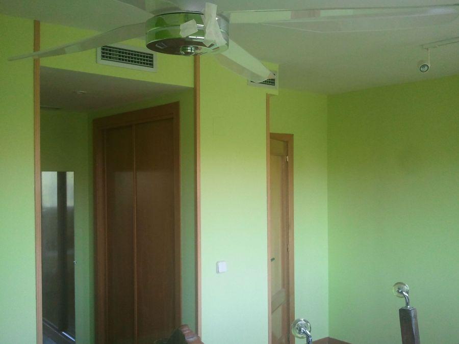 Dormitorio Verde oscuro y verde claro (10)