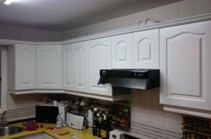 2ª Mano de laca en muebles de cocina y montado (2)