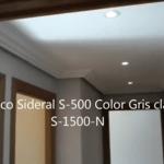 Pasillo Plastico Sideral 500 color gris S-1500-N 1