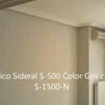 Salon Plastico Sideral 500 color gris S-1500-N 1