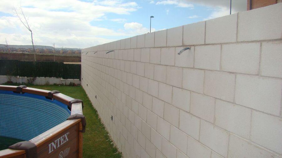 Muro de Bloque tipo Slip 1