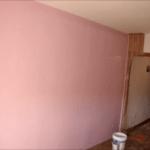 Aplicando Esmalte color Malva 2