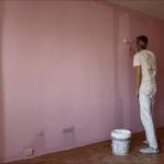 Aplicando Esmalte color Malva 4